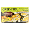 Clean and Green: Celestial Seasonings - Green Tea Honey Lemon Ginseng with White Tea - 20 Tea Bags - Case of 6