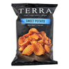 Terra Chips Sweet Potato Chips - Crinkled Sweet Potato with Sea Salt - Case of 12 - 6 oz.. HGR 0831586