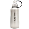 Thinksport Stainless Steel Sports Bottle - Silver - 25 oz HGR 836874