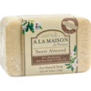 hgr: A La Maison - Bar Soap Sweet Almond - 8.8 oz