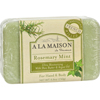 Clean and Green: A La Maison - Bar Soap Rosemary Mint - 8.8 oz