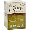 Teas Classic Blend Green Tea - 16 Tea Bags - Case of 6
