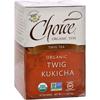 Twig Tea Twig Kukicha - 16 Tea Bags - Case of 6