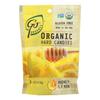 Go Organic Hard Candy - Honey Lemon - 3.5 oz.. - Case of 6 HGR 0849620
