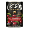 Oregon Fruit Whole Pitted Dark Sweet Cherries In Heavy Syrup - Case of 8 - 15 oz.. HGR 0867036