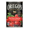 Red Tart Cherries In Water - Case of 8 - 14.5 oz..