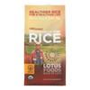Lotus Foods Organic Madagascar Pink Rice - Case of 6 - 15 oz. HGR 0871806