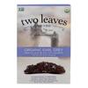 Black Tea - Organic Earl Grey - Case of 6 - 15 Bags