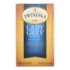 Twinings Tea Black Tea - Lady Grey - Case of 6 - 20 Bags HGR 0873901