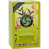 Triple Leaf Tea Green Tea with Ginseng - Decaffeinated - Case of 6 - 20 Bags HGR 0877597