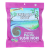 Organic Pacific Sushi Nori - Toasted - Silver Grade - 50 Sheets - Case of 4