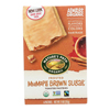 Nature's Path Organic Frosted Toaster Pastries - Mmmaple Brown Sugar - Case of 12 - 11 oz.. HGR 0879403