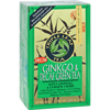 Triple Leaf Tea Ginkgo and Green Tea Decaffeinated - 20 Tea Bags - Case of 6 HGR 880112