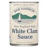 Bar Harbor New England Style White Clam Sauce - Case of 6 - 10.5 oz.. HGR 0882167