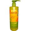 soaps and hand sanitizers: Alba Botanica - Hawaiian Body Wash - Renewing Passion Fruit - 24 oz
