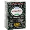 Clean and Green: St Dalfour - Organic Black Cherry Tea - 25 Tea Bags