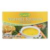 Rapunzel Bouillon Cubes - Vegetable - Vegan - Sea Salt - 2.97 oz.. - Case of 12 HGR 0894451