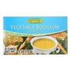 Rapunzel Bouillon Cubes - Vegetable - Vegan - No Salt Added - 2.4 oz.. - Case of 12 HGR 0894469