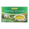 Rapunzel Bouillon Cubes - Vegetable - Vegan - Sea Salt and Herbs - 3.10 oz.. - Case of 12 HGR 0894477