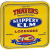 Cough & Cold: Thayers - Slippery Elm Lozenges Original - 42 Lozenges - Case of 10