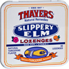 cough drops: Thayers - Slippery Elm Lozenges Tangerine - 42 Lozenges - Case of 10