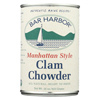 Bar Harbor Manhattan Clam Chowder Soup - Case of 6 - 15 oz.. HGR 0910125