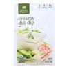 Simply Organic Creamy Dill Dip Mix - Case of 12 - 0.7 oz.. HGR 0915694