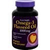 Natrol Omega-3 Flax Seed Oil - 1000 mg - 90 Softgels HGR 0916338