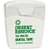 Desert Essence Tea Tree Oil Dental Tape - 30 Yds - Case of 6 HGR 0923169