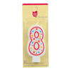 Cake Mate Birthday Party Candle - Numeral - 8 - 3 in - 1 Count - Case of 6 HGR 0925503