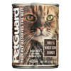 PetGuard Cats Food - Beef and Wheat Germ Dinner - Case of 12 - 13.2 oz. HGR 0926535