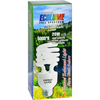 Ecolume Spiral Compact Fluorescent Lamp 20 Watt - 1 Light Bulb HGR 0933564