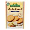 Devonsheer Organic Plain Melba Rounds - Case of 12 - 5.25 oz.. HGR 0936062
