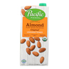 Almond Original - Unsweetened - Case of 12 - 32 Fl oz..