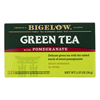 Green Tea - with Pomegranate - Case of 6 - 20 BAG