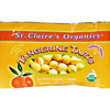 St Claire's Organic Tangerine Tart Pouches - Case of 12 - .56 oz HGR 942987