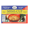 Reduced Sodium Miso - Cup - Case of 12 - 1 oz..