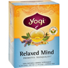 Relaxed Mind Herbal Tea Caffeine Free - 16 Tea Bags - Case of 6