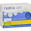 Natracare Tampons - Regular - 10 Pack HGR 0955153