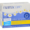 Feminine Hygiene Tampons: Natracare - Tampons - Super - 10 Pack
