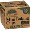 Ring Panel Link Filters Economy: If You Care - Baking Cups - Mini - Unbleached Totally Chlorine Free - 90 Count