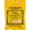 cough drops: Jakemans - Throat and Chest Lozenges - Honey and Lemon - Case of 12 - 30 Pack
