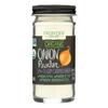 Frontier Herb Onion - Powder - Organic - White - 2.10 oz. HGR 0973677