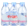 Evian Spring Water Spring Water - Natural - Case of 4 - 6/11.2fl oz. HGR 0977835