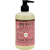 soaps and hand sanitizers: Mrs. Meyer's - Liquid Hand Soap - Rosemary - Case of 6 - 12.5 oz