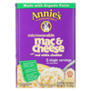 Annie's Homegrown Microwavable Mac and Cheese with Real White Cheddar - Case of 6 - 10.7 oz. HGR 0996538