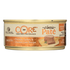 Wellness Pet Products Cat Food - Core Chicken - Turkey and Chicken Liver - Case of 24 - 5.5 oz.. HGR 1002591