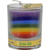 Aloha Bay Votive Jar Candle - Unscented Rainbow - Case of 12 - 2.5 oz HGR 1010354