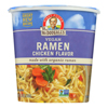 Dr. Mcdougall's Vegan Ramen Soup Big Cup with Noodles - Chicken - Case of 6 - 1.8 oz.. HGR 1012244