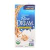 Rice Dream Organic Rice Drink - Original - Case of 12 - 32 Fl oz.. HGR 1012343
